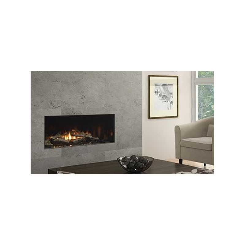 New York View 40 Gas Fireplace, City Series Modern Gas Fireplaces, Grills, Miami FL