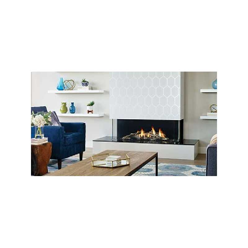 San Francisco Bay 40 Gas Fireplace, City Series Modern Gas Fireplaces, Grills, Miami FL