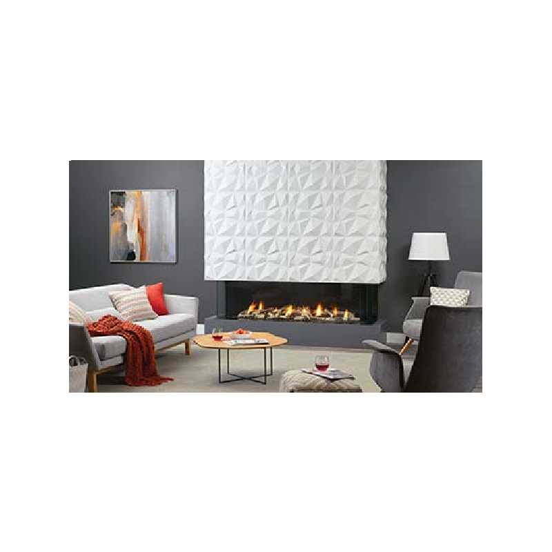 San Francisco Bay 60 Gas Fireplace, City Series Modern Gas Fireplaces, Grills, Miami FL