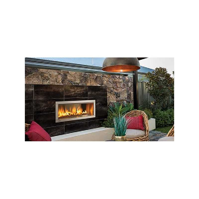 Hzo42 Outdoor Gas Fireplace, Outdoor Fireplaces, Grills, Miami FL