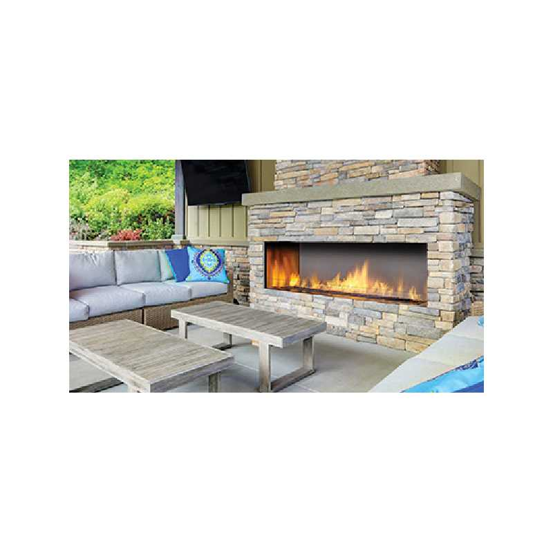 Hzo60 Outdoor Gas Fireplace, Outdoor Fireplaces, Grills, Miami FL