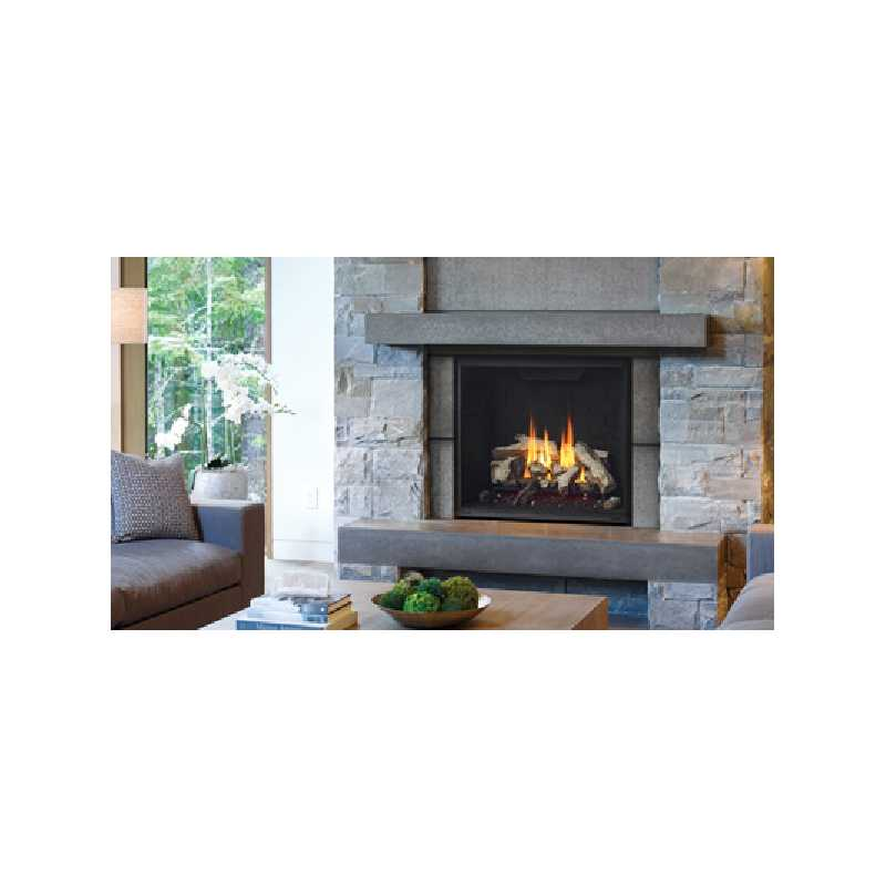 G800ec Gas Fireplace, Traditional Gas Fireplaces, Grills, Miami FL